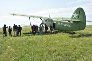 Полет на АН-2 на месте второго пилота